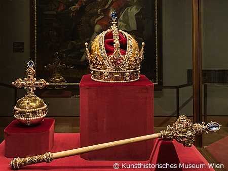 オーストリア帝国の王冠(王宮宝物館)