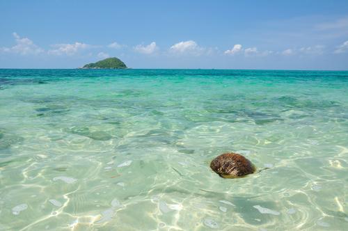 どこまでも澄んだ海!!