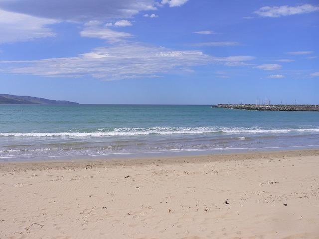 アポロベイのビーチ