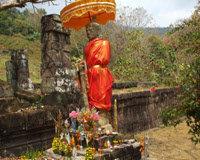 ワットプーの仏像