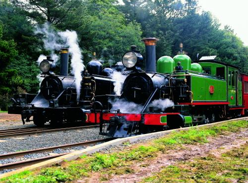 パッフィングビリー列車