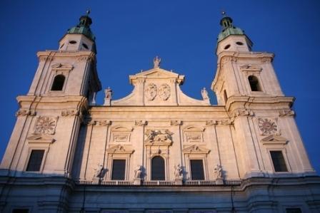 ザルツブルグ市内の教会