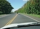 ハレアカラの山道をドライブ